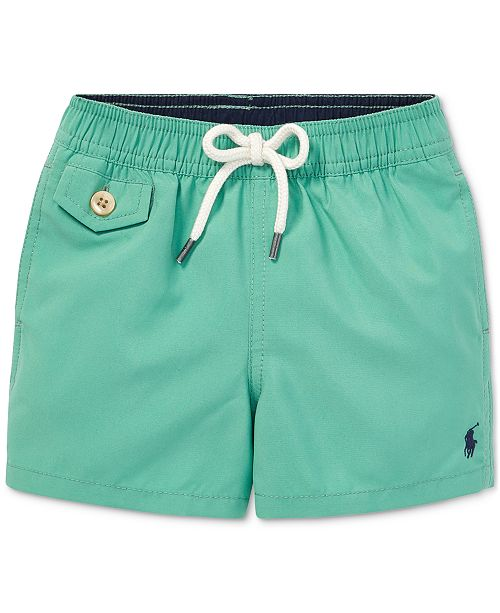 a7ee1f189a1ba Polo Ralph Lauren Baby Boys Traveler Twill Swim Trunks & Reviews ...