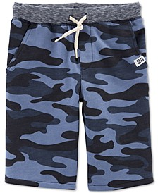 Little & Big Boys Camouflage Cotton Shorts