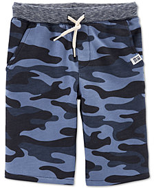 Carter's Little & Big Boys Camouflage Cotton Shorts