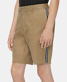 Calvin Klein Men's Contrast Striped Shorts