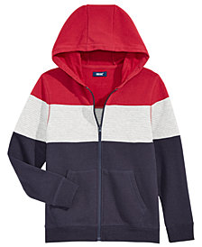 Univibe Big Boys Chosen Colorblocked Fleece Hoodie