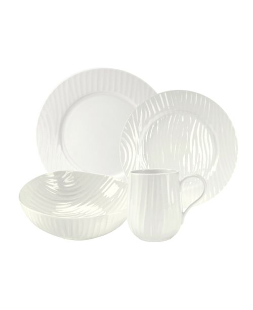 Portmeirion Sophie Conran Oak 4 Piece Place Setting,  Created for Macy's