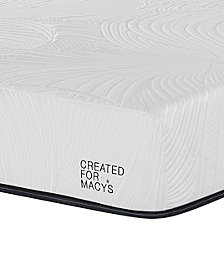 "MacyBed Lux Barton 10"" Cushion Firm Memory Foam Mattress Set - Queen, Created for Macy's with Adjustable Base"