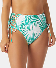 Raisins Palm Bae Printed Sahara Cheeky High-Waist Bottoms
