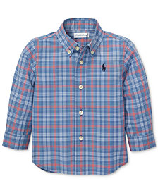 Polo Ralph Lauren Baby Boys Plaid Cotton Shirt