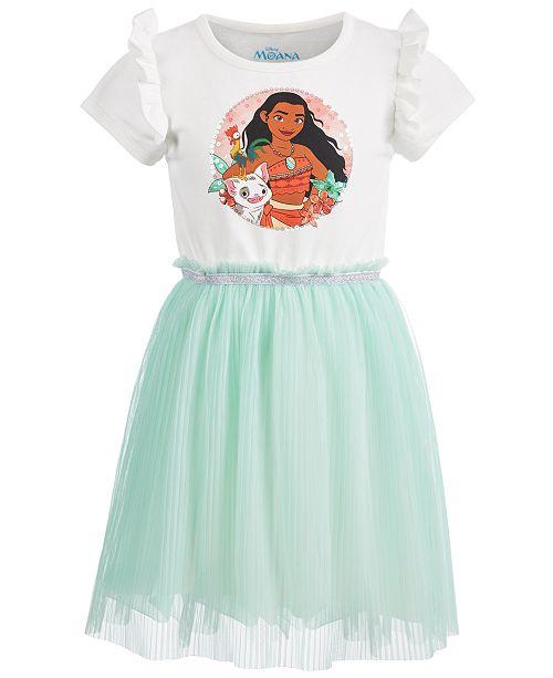 5901de90ab Disney Toddler Girls Pleated Moana Dress   Reviews - Dresses - Kids ...