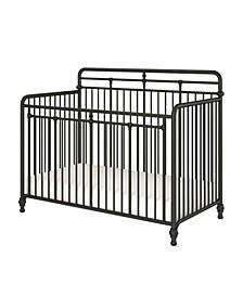 Monarch Hill Hawken 3 in 1 Convertible Metal Crib