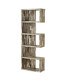 Travis Rustic Style Bookcase