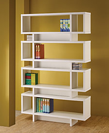 Kristin Contemporary Style Bookcase