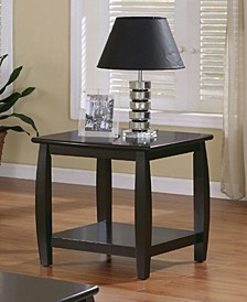 Russell Wood Top End Table