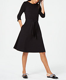 Weekend Max Mara Tie-Waist Jersey Dress