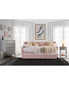 Little Seeds Ambrosia Upholstered Twin Daybed and Trundle