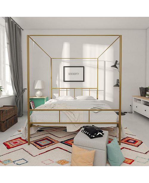 84af925e8a78 Novogratz Collection Novogratz Marion Canopy Full Bed & Reviews ...