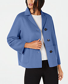Weekend Max Mara Ardenne Button-Front Jacket