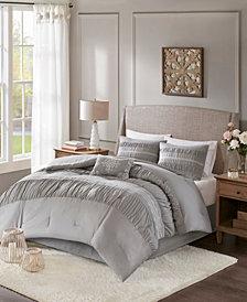 Madison Park Elvina Queen 5-Piece Comforter Set