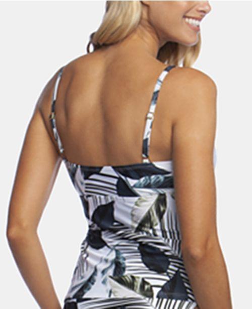 dc0a8839f721b La Blanca Moment of Zen Tie Front Tankini Top & Reviews - Swimwear ...