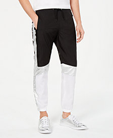 I.N.C. Men's Colorblocked Track Pants, Created for Macy's