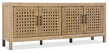 Wabi Sabi 76in Woven Door Entertainment Console