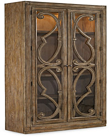 Solana Bunching Curio Cabinet