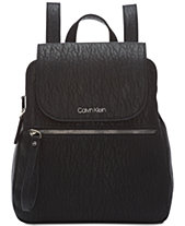 Calvin Klein Elaine Flap Backpack 17412902262