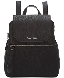 Calvin Klein Elaine Flap Backpack
