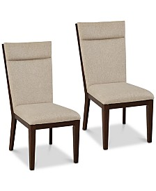 CLOSEOUT! Dumont Dining Chair (Set of 2), Quick Ship