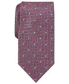 Perry Ellis Men's Arran Neat Silk Tie