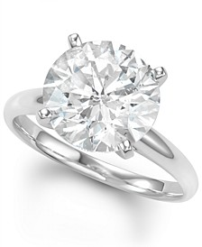 Diamond Solitaire Engagement Ring (5 ct. t.w.) in 14k White Gold