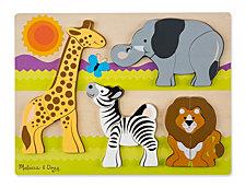 Chunky Jigsaw Puzzle - Safari