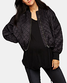 BB Dakota Maternity Quilted Jacket