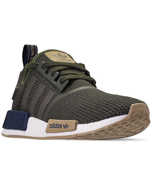 cbcd82d944744 adidas Men s NMD R1 Casual Sneakers from Finish Line   Reviews ...