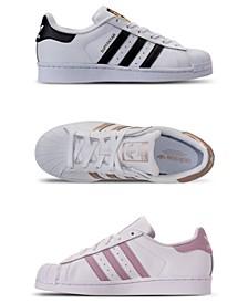Women's Originals Superstar Sneakers from Finish Line