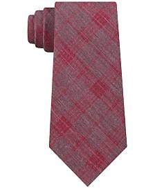 Calvin Klein Men's Molten Plaid Slim Tie
