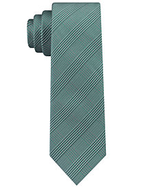 Calvin Klein Men's Tech Glen Plaid Tie