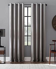 Linen Blend Blackout Grommet Top Curtain Collection