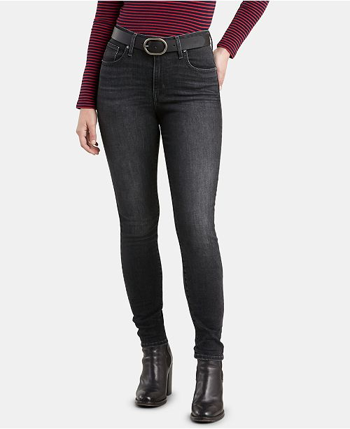 3e46198a Levi's 721 High-Rise Sparkly Skinny Jeans. Macy's / Women / Jeans