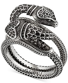 Men's Snake Ring in Sterling Silver
