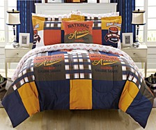 Corey 6 Piece Twin Bed In a Bag Comforter Set