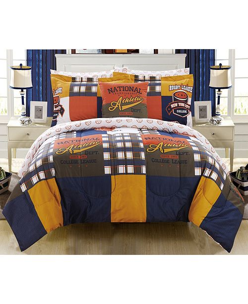 Chic Home Corey 6 Piece Twin Bed In a Bag Comforter Set