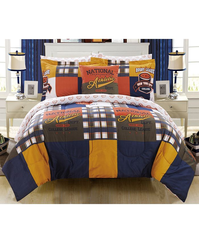 Chic Home - Corey 8-Pc. Bed In a Bag Comforter Sets