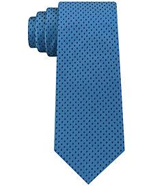 Calvin Klein Men's Mirror Dot Slim Tie