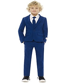 Boys Navy Royale Solid Suit