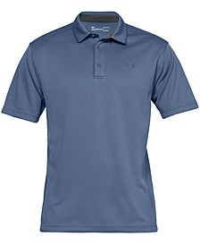 Men's Tech Textured-Stripe Polo