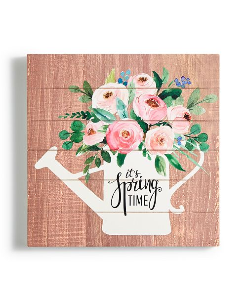 Martha Stewart Collection CLOSEOUT! 'It's Spring Time' Art Print, Created for Macy's