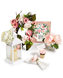 Martha Stewart Collection Spring Décor Collection, Created for Macy's