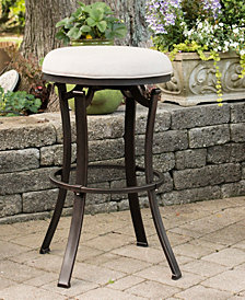Indoor / Outdoor Bryce Backless Swivel Counter Stool