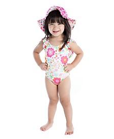 Masala Baby Baby Girl Flutter One Piece English Garden