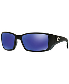 Costa Del Mar Polarized Sunglasses, BLACKFIN 06S000003 62P