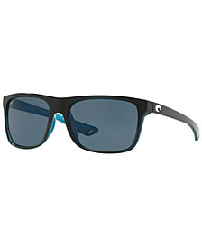 Costa Del Mar Polarized Sunglasses, REMORA 56