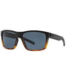 Costa Del Mar Polarized Sunglasses, SLACK TIDE 60